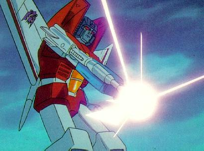 Starscream about to fire