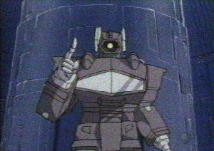 Shockwave and his finger